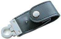 USBメモリー レザーハウジングB ブラック