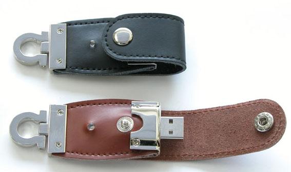 USBメモリー レザーハウジングB 写真1