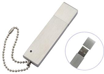 USBメモリー メタルストレート